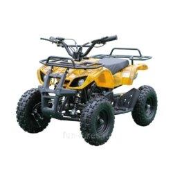 Детский квадроцикл на аккумуляторе MOTAX Mini Grizlik Х-16 мощностью 1000W желтый- камуфляж (пульт контроля, до 35 км/ч)