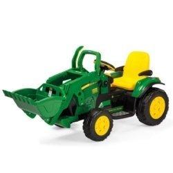 Электромобиль- трактор Peg-Perego John Deere Ground Loader (скорость до 7,3 км/ч)