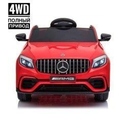 Электромобиль Mercedes Benz GLC63 AMG 4WD QLS-5688 (полный привод, колеса резина, кресло кожа, пульт, музыка)